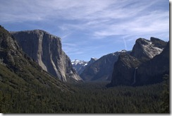 Yosemite vom Tunnel View